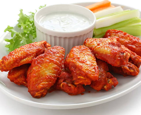 Traditional Wings 6 pc.